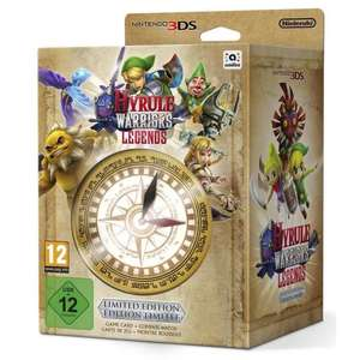 Zelda Hyrule Warriors Legends sur 3DS (vendeur tiers)