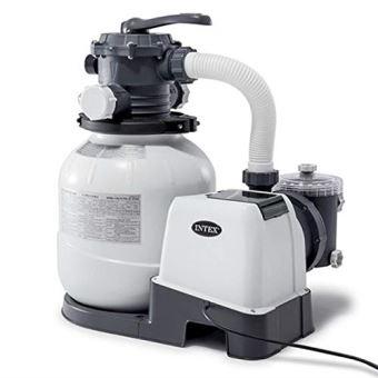 Filtre à Sable Intex - 6m3/h, Blanc