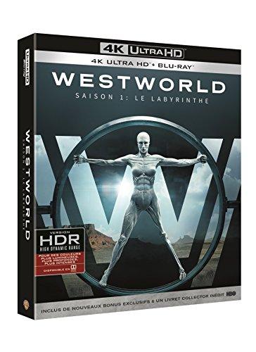 Coffret Blu-ray 4K UHD + Blu-ray WestWorld - Saison 1