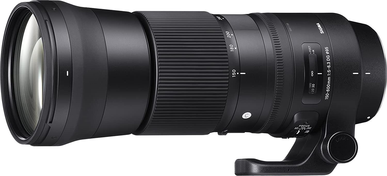 Téléobjectif Sigma 150-600mm F5,0-6,3 DG OS HSM Contemporary - Monture Nikon F (via coupon)