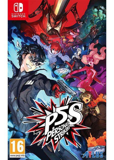 Jeu Persona 5 : Strikers sur Nintendo Switch (28.99€ via RAKUTEN5)