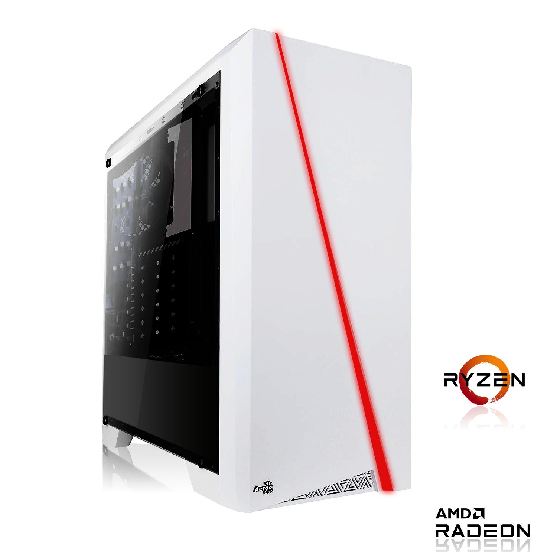 PC de bureau - Ryzen 5 4650G, 16Go RAM (3000Mhz), SSD 128 Go NVME + 1000Go HDD, MSI A520M-A Pro, Alim 650W
