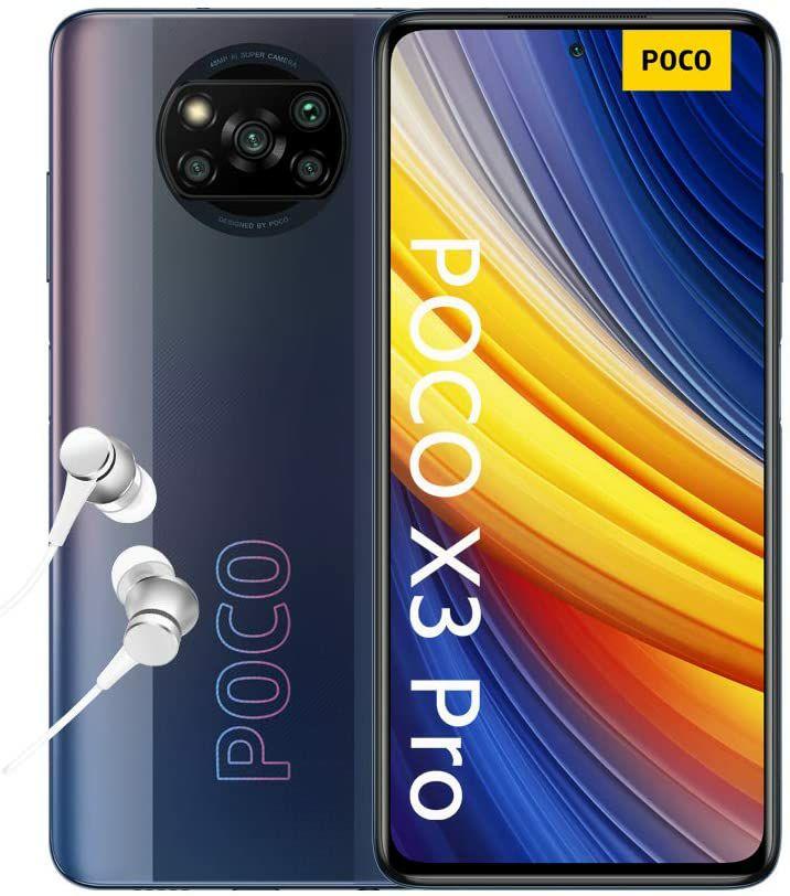 """Smartphone 6.67"""" Xiaomi Poco X3 Pro - Snapdragon 860, 6 Go, 128 Go (Vendeur tiers)"""