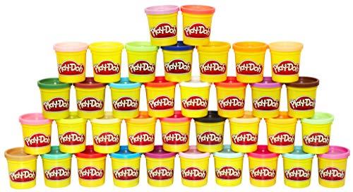 36 pots de pâte à modeler Play-Doh - 36 x 85g, Couleurs Multiples