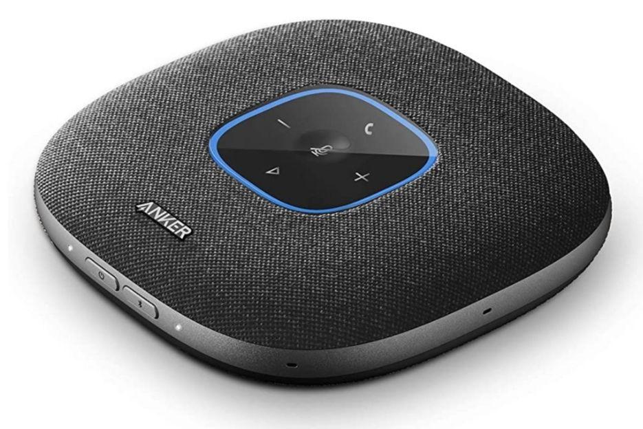 Haut-parleur de conférence Anker PowerConf S3 - 6 Microphones Intégrés, Bluetooth 5, USB-C (Vendeur tiers)