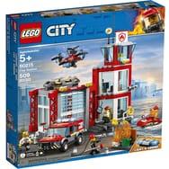 Lego City 60215 - La Caserne de Pompiers (Via 9.98€ sur Carte Fidélité)