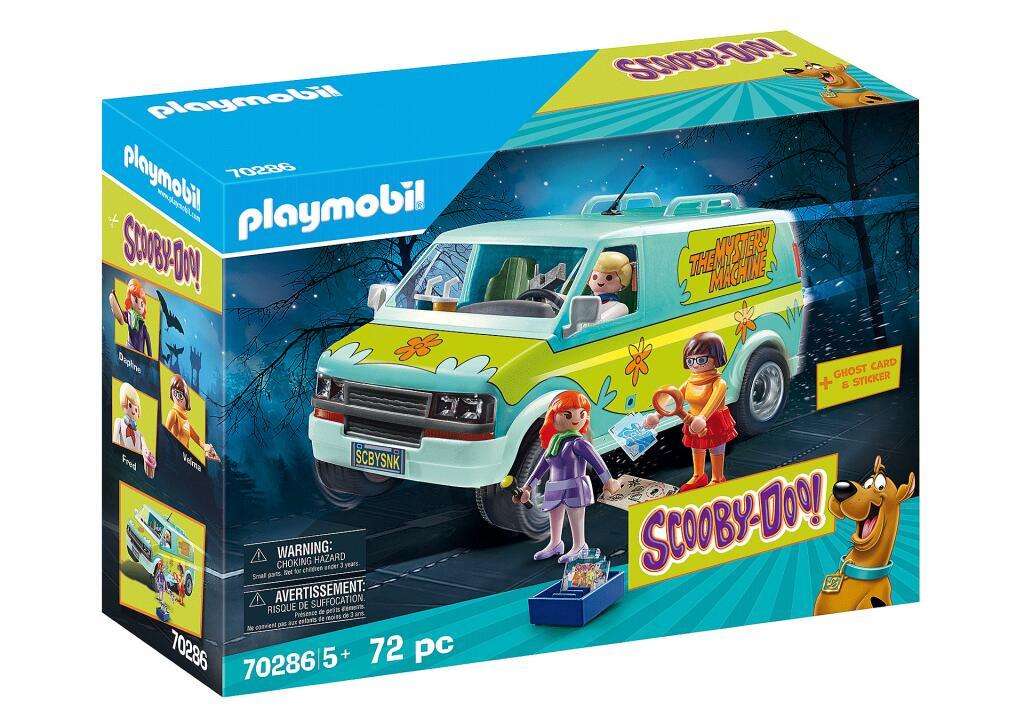 Jouet Playmobil Scooby-Doo! - La camionnette Mystery Machine 70286