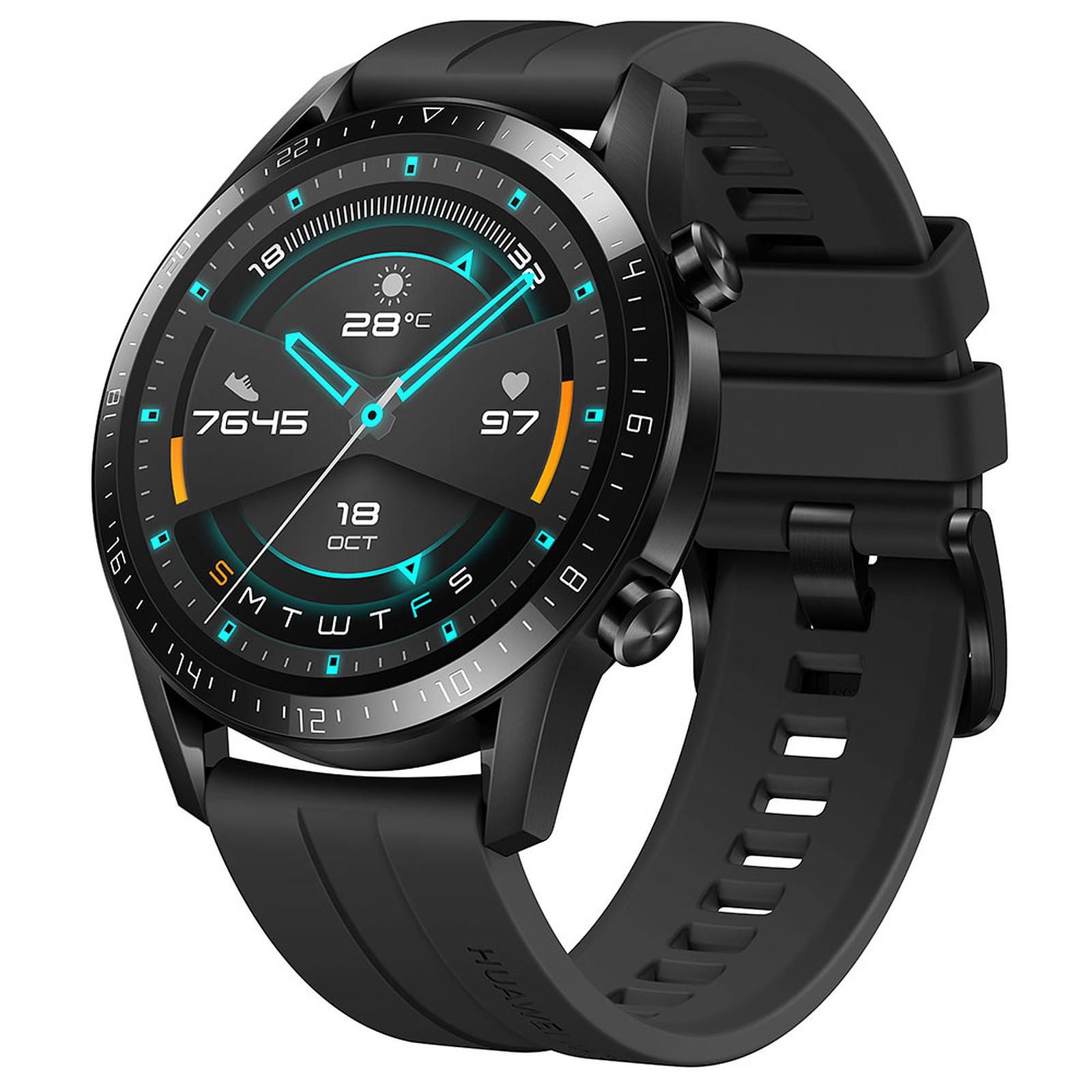 [Nouveaux clients] Montre connectée Huawei Watch GT 2 - 46 mm, Noir (Entrepôt France)
