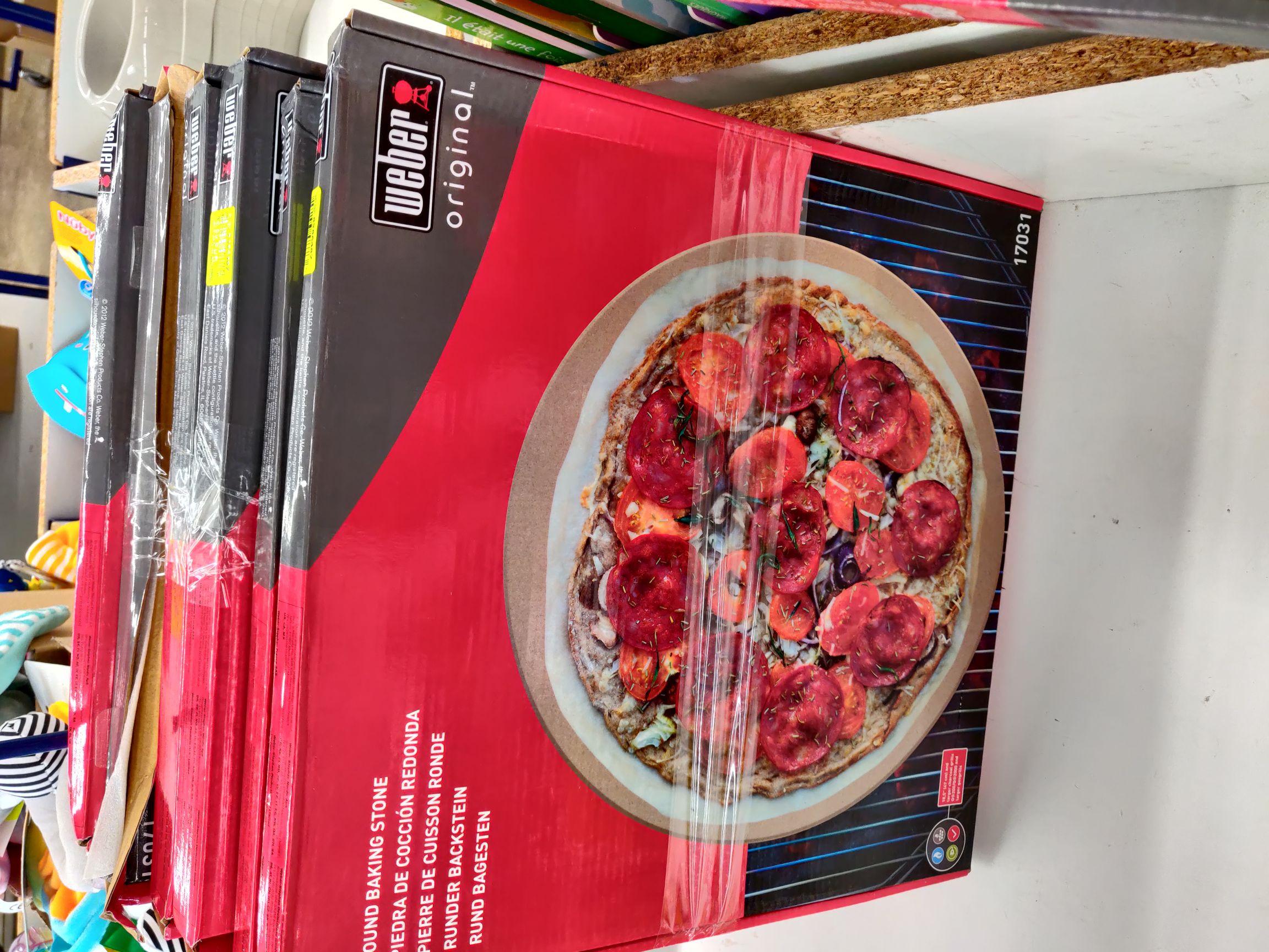Pierre de cuisson ronde pour pizza Weber Original (47 cm) - Villeneuve-sur-Lot (47), Chavelot (88)
