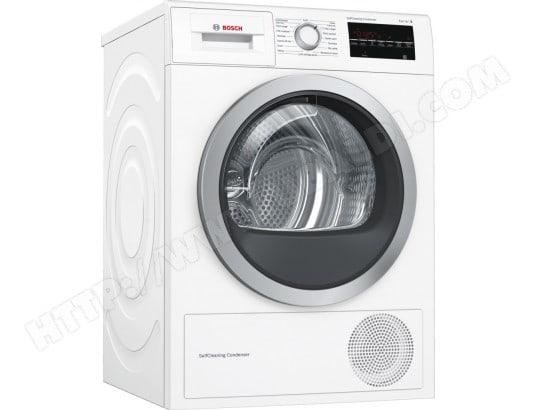 Sèche-linge à condensation avec pompe à chaleur Bosch WTW87499FF - SelfCleaning, 9 kg, A++ (+ 28.95€ en Rakuten Points) - Ubaldi