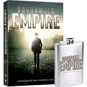 DVD Boardwalk Empire, saison 1 et 2 de martin scorsese + flasque