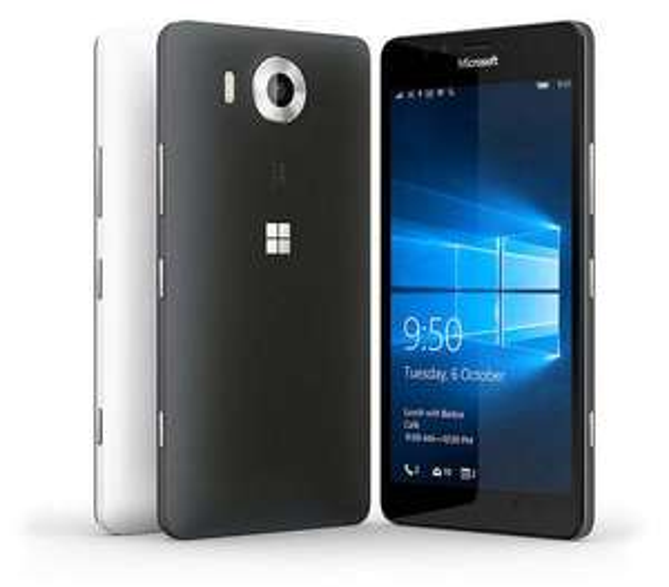 "Smartphone 5.2"" Microsoft Lumia 950 32 Go (Double Sim) - Noir ou Blanc"
