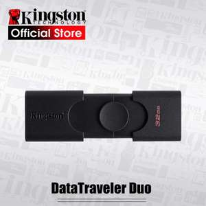 [Nouveaux clients] Clé USB Kingston DataTraveler Duo - 32 Go, USB 3.2 (USB-A + USB-C)