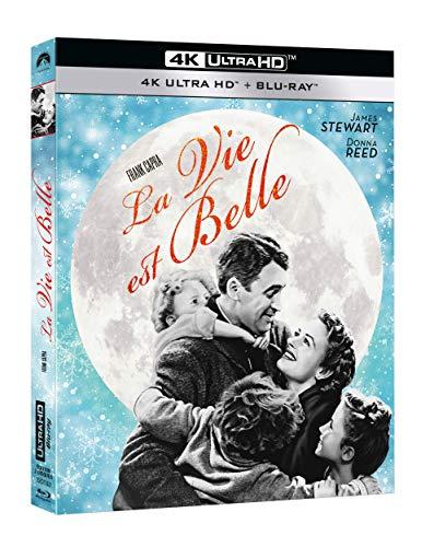 Blu-ray 4K + Blu-Ray + Fourreu - La Vie est Belle (de Frank Capra)