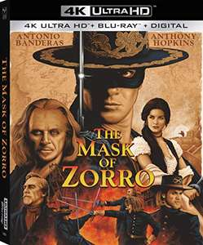 Coffret Blu-ray 4K UHD + Blu-ray + Digital - Le Masque de Zorro