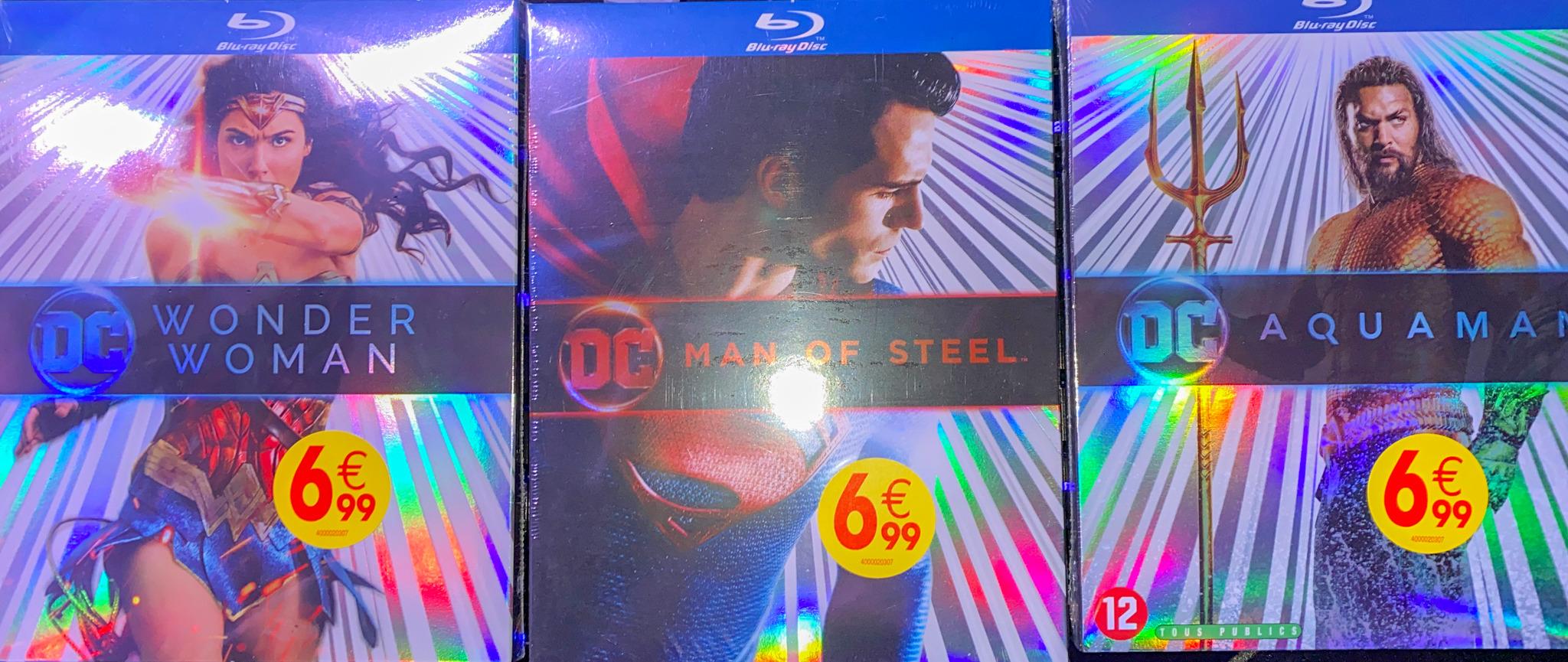 Sélection de Blu-ray DC COMICS en promotion - Ex: Blu-Ray Aquaman - Lyon Vénissieux (69)