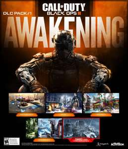 Pack de DLC Black Ops 3 : Awakening jouable gratuitement ce Week-end