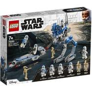 Jouet LEGO Star Wars 75280 - Les Soldats Clones de la 501ème légion (Via 7€ sur le compte de fidélité)