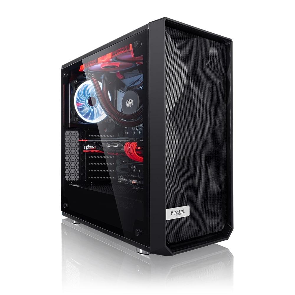 PC de bureau - Ryzen 5 5600X, AMD RX 6700XT (12 Go), 16 Go RAM RGB (3600 MHz), 512 Go SSD NVMe + 1 To, MSI B550-A PRO, Alim Bequiet 700W