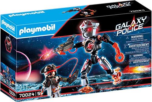 Jouet Playmobil Robot et Pirate de l'Espace n°70024