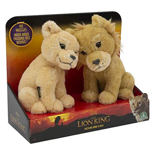 Lot de 2 peluches Le roi lion peluche - 17cm