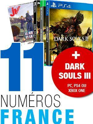 11 Numéros JVlemag + Jeu Darksoul 3 + 3 mois Abonnement Gamekult Premium
