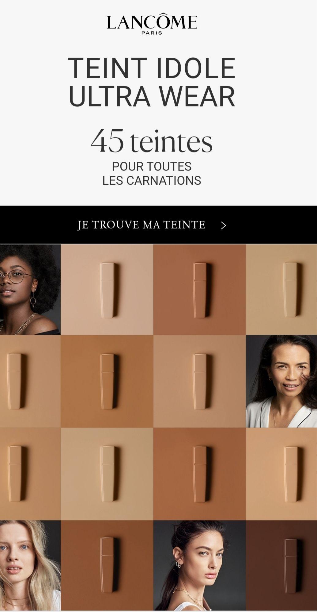 Échantillon gratuit Lancôme Paris - Fond de teint Idole Ultra Wear