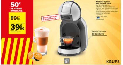 Cafetière Nescafé Dolce Gusto Krups Mini Me YY4567FD + 3 boîtes de capsules