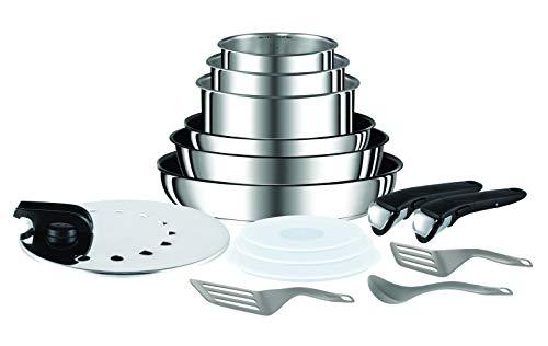 Batterie de cuisine Tefal Ingenio Preference L9409602 (15 pièces) - Tous feux dont induction