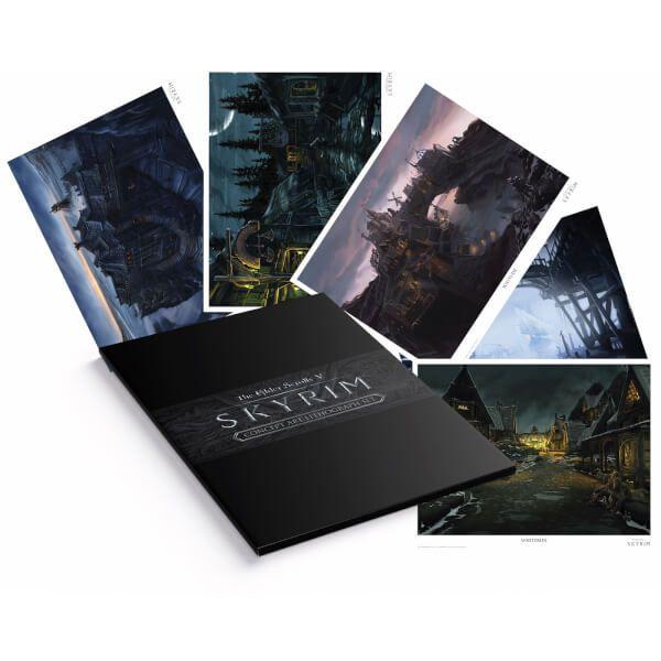 Set de Lithographies The Elder Scrolls V : Skyrim