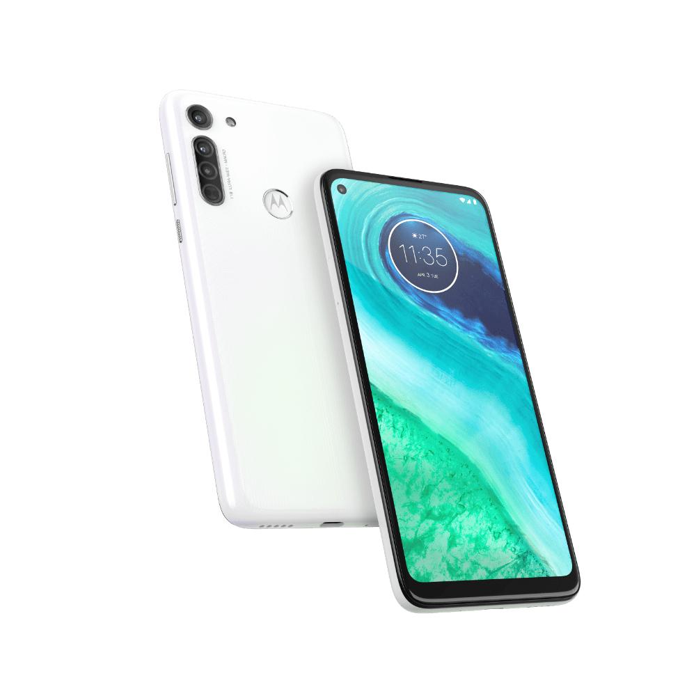 "Smartphone 6,4"" Motorola Moto G8 Blanc - IPS HD+, Snapdragon 665, 4/64Go, 4000 mAh"