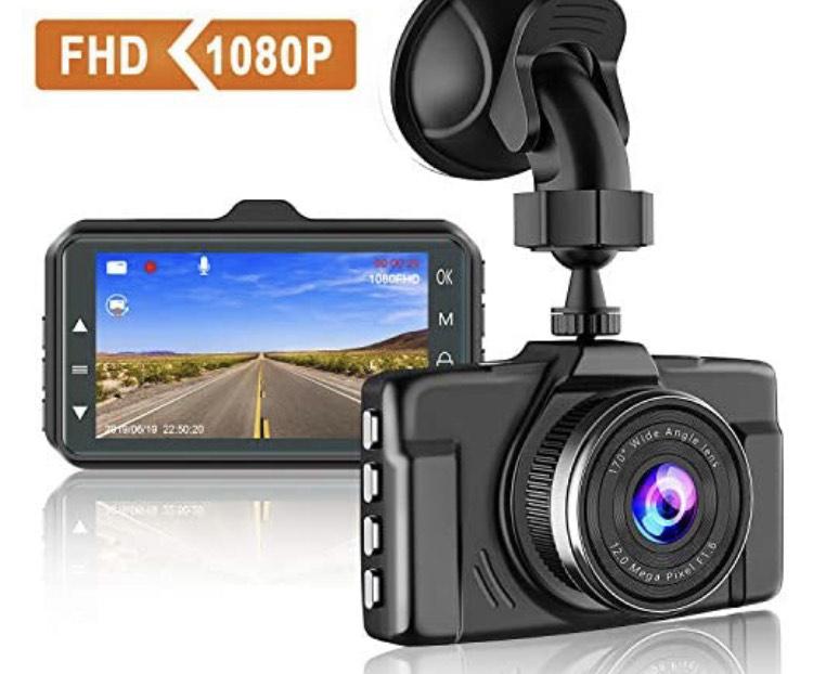 Camera embarquée Dashcam Chortau - 1080P, 170° (Vendeur Tiers)