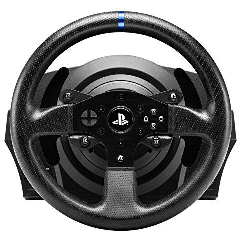 Sélection de Volants Thrustmaster. Exemple : T300RS + Pédalier à Double pédales pour PC, PS3 & PS4 à 221€