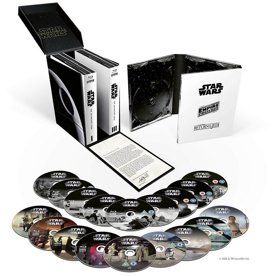 Coffret Star Wars: La Saga Skywalker + bonus - 18 Blu-Ray