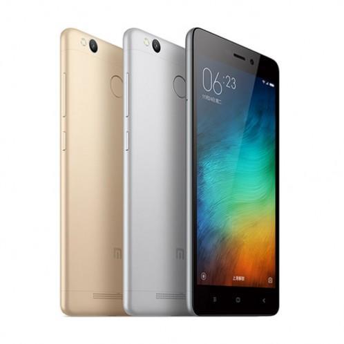 """Smartphone 5"""" Xiaomi Redmi 3 Pro - ROM 32 Go, RAM 3 Go (pas de 4G 800Mhz)"""