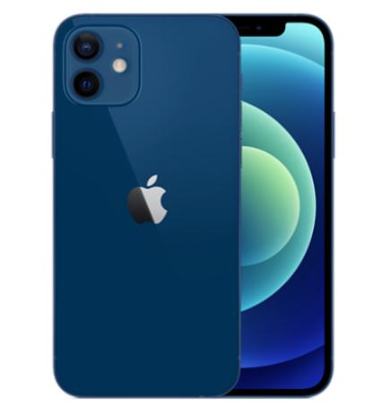 """Smartphone 6.1"""" Apple iPhone 12 - 64 Go, Rouge ou Bleu (Occasion - Boite ouverte/Jamais utilisé)"""