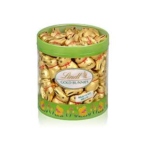 Chocolat au lait Lindt - Tubo Mini Lapin Or (700g)