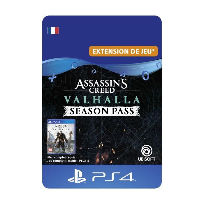 Season Pass Assassin's Creed Valhalla sur PS4/PS5 (Dématérialisé)