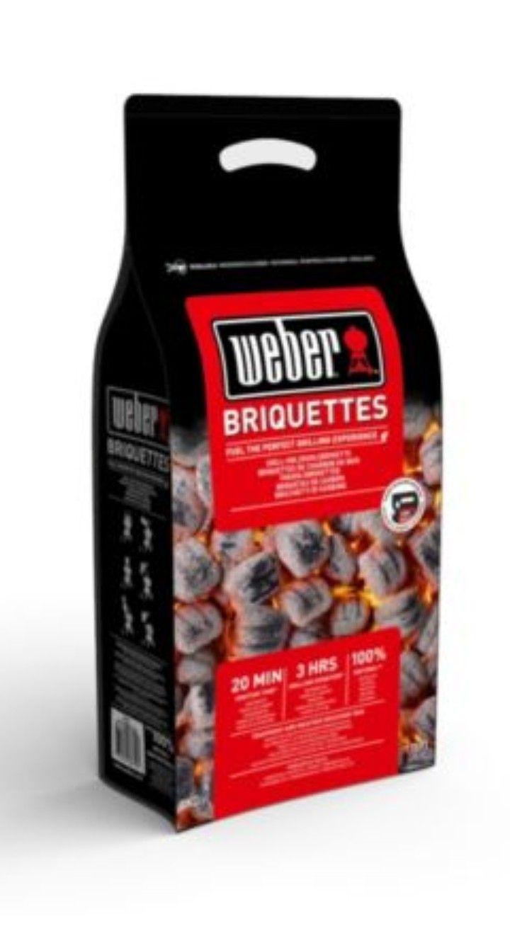 Sac de Briquettes de charbon Weber FSC - 8 kg