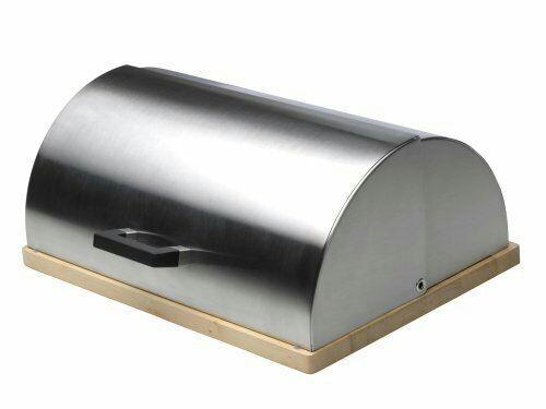 Boîte à pain BergHOFF Cubo en acier inoxydable - 28 x 39 x 16,5 cm