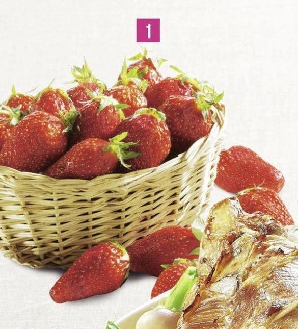 Barquette de fraises Gariguette - 250g, Catégorie 1, origine France