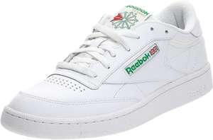 Sneakers Basses Homme Reebok Club C 85 - Blanche (Taille 40 et 43)