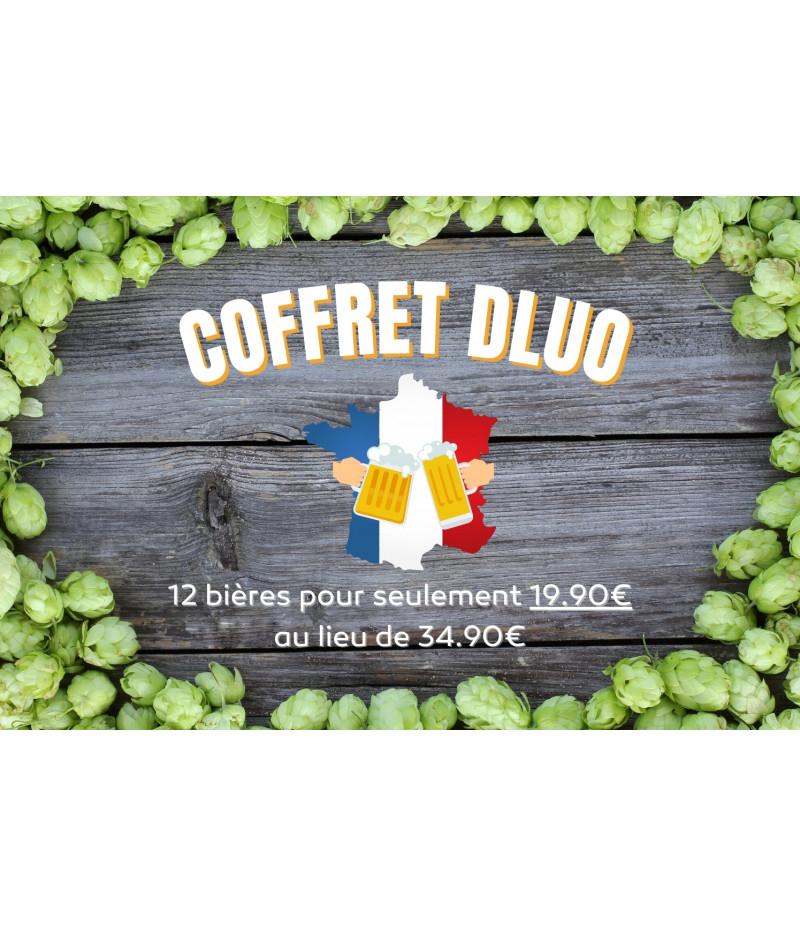 """Coffret 12 bières """"DLUO du mois"""" (machopinette.com)"""