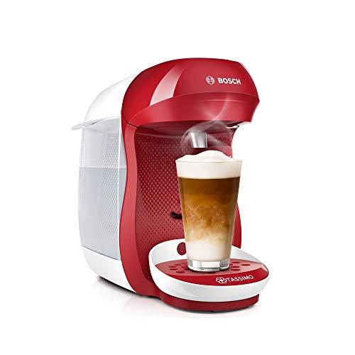 Machine à café Bosch Tassimo TAS1006 - 1400 W, 0.7 L, Rouge/Blanc
