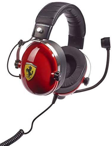 Micro-casque Thrustmaster T-Racing Scuderia