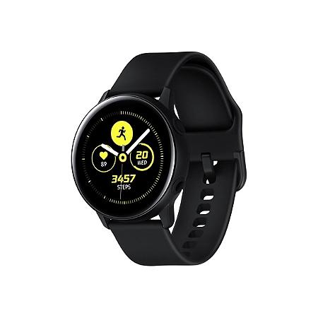 Montre connectée Samsung Galaxy Watch Active Noir 40mm (via 40€ sur carte leclerc)