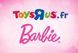 """Rosedeal Barbie chez Toys""""R""""Us dépensez 30€"""