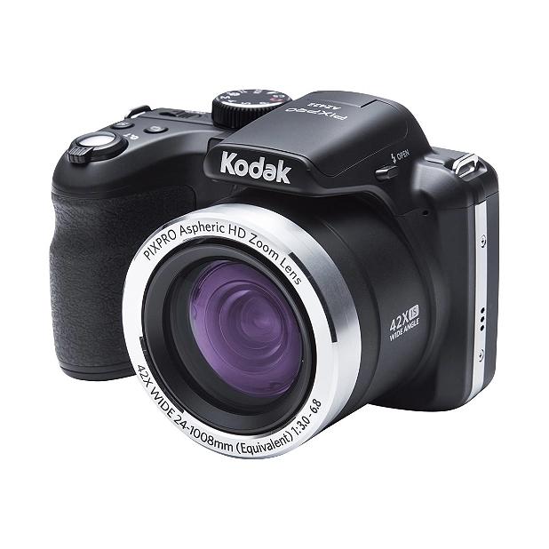 Appareil photo Bridge numérique Kodak Pixpro Astro Zoom AZ422 - Noir