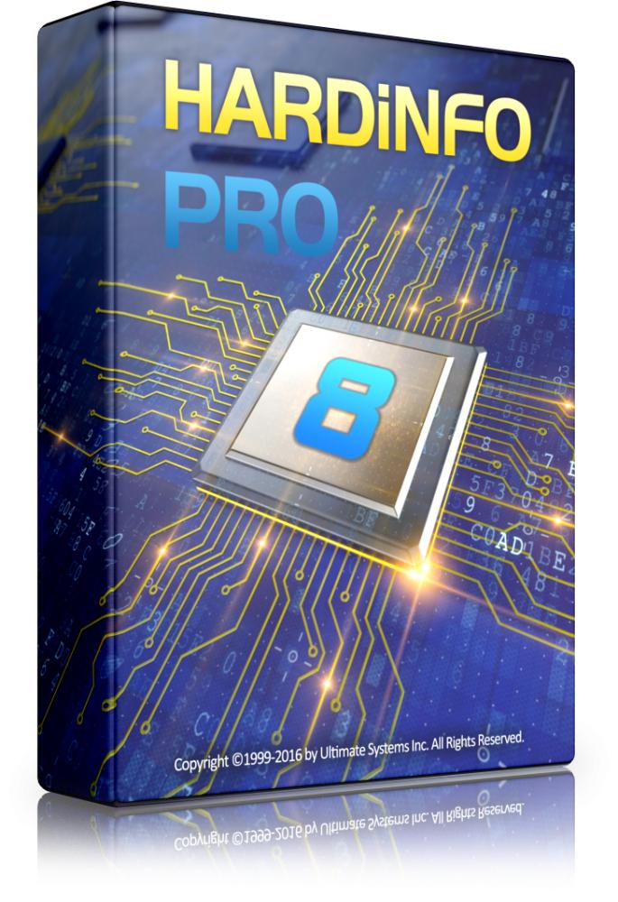 Logiciel HARDiNFO 8 Pro gratuit sur PC (Dématérialisé)