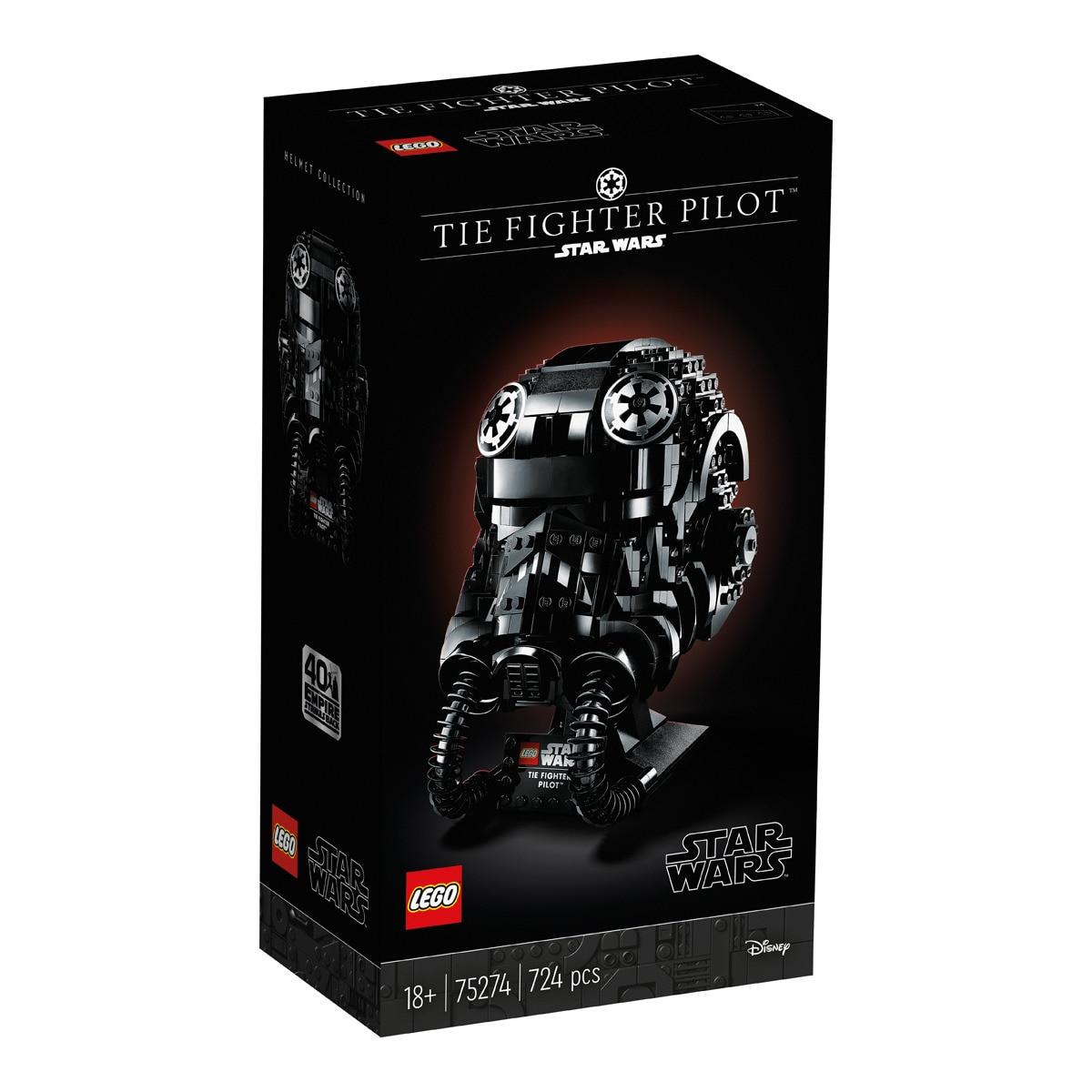 Lego Star Wars Le casque de pilote de TIE-Fighter 75274